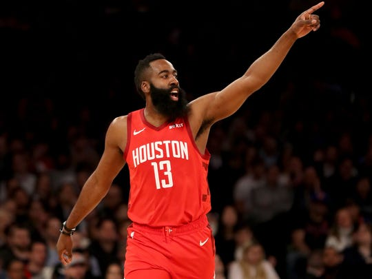 James Harden and the Rockets pushed the Warriors to seven games in the Western Conference finals in 2018.