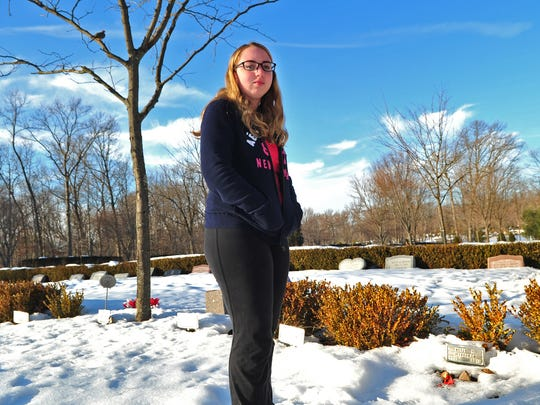 Hannah Rhoads, 14, a freshman at South Plainfield High
