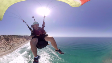Your moment of Zen: Paraglide the Pacific Coast in VR