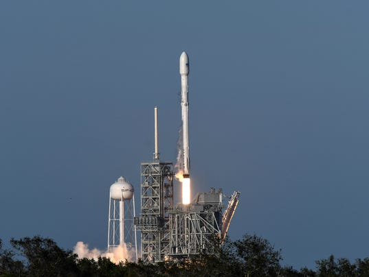 updates spacex launches lands flight proven falcon 9 in historic first
