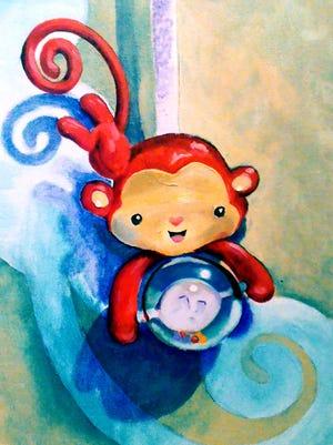 """""""Monkey"""" by April Rifenburgh"""