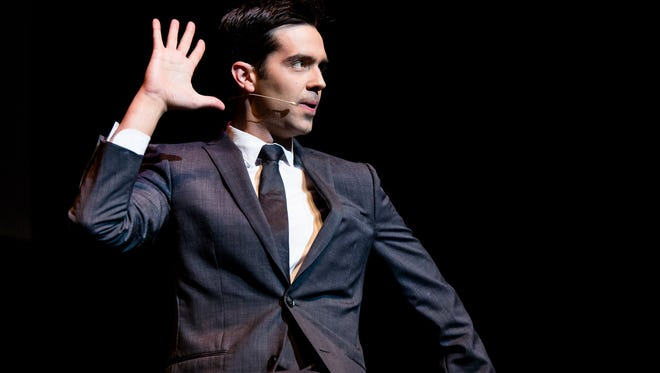 """Magician Michael Carbonaro, star of truTV's """"The Carbonaro Effect,""""  has a few tricks up his sleeve for Sunday's performance at the Meyer Theatre."""
