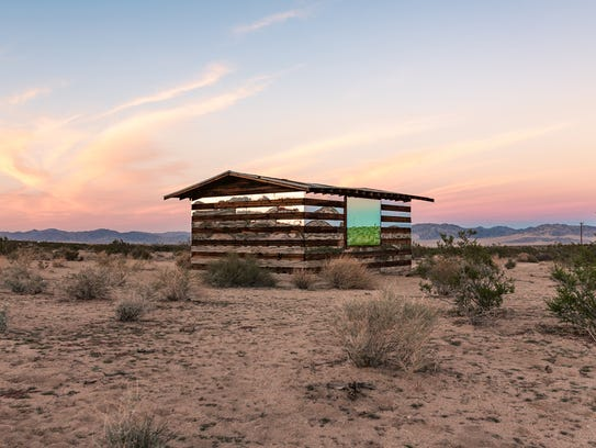 Smith's reimagining of a homestead cabin, Lucid Stead,