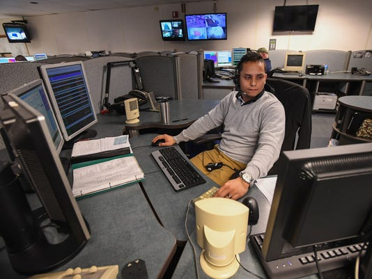 Greenville county 911 call center