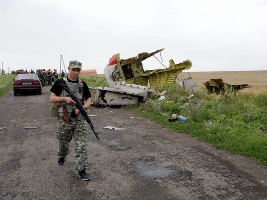 Ukraine Malaysia Airlines crash