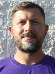 Irion County coach Jacob Conner