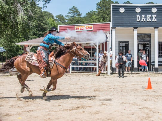 Frontier Town hosts their Frontier Day Celebration