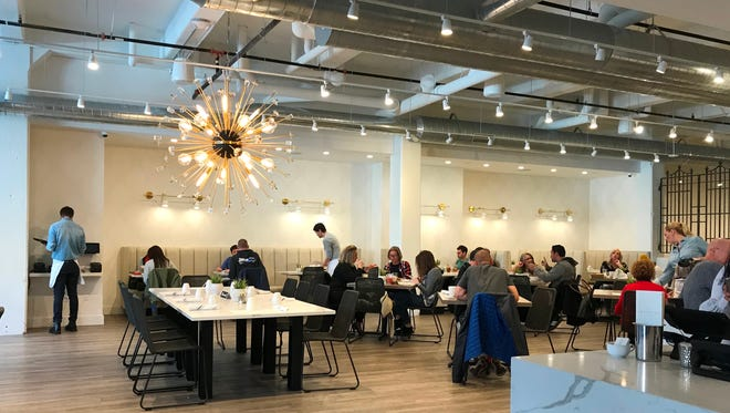 Sweet Diner, which serves breakfast and lunch daily, is in an open, modern space at 239 E. Chicago St.