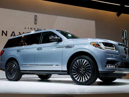 NEW YORK, NY - APRIL 12: The 2018 Lincoln Navigator