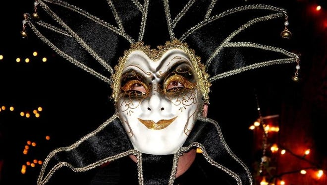 Costumes are encouraged for Saturday night's Mardi Gras party at 4th Floor Blues Club in Richmond.