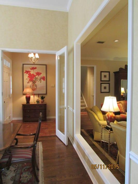 Interior Window Between Two Rooms