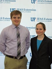 Amanda Tanner and Donald Cunningham were selected scholarship