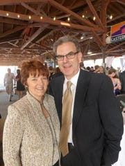 Livonia residents Cheryl and Jeff Doelker attend the