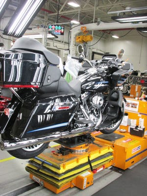 A new contract for Harley-Davidson workers at the Springettsbury Township plant was ratified Nov. 23 and will go through 2022.