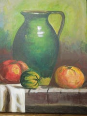 """""""Heirloom Tomatoes"""" by Lucy Hedman."""