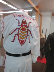 A uniform from the Military Order of the Cootie of the United States is part of a new exhibit at the Phillips County Museum.