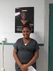 North Plainfield Middle School student Ma'Taya Chapman portrayed Maya Angelou