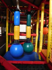 Jungle Junction includes multiple obstacle course challenges.