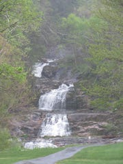Kent Falls State Park is off Route 7.