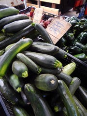 Fresh zucchini is still available at Tutti Frutti farms at the Ojai farmers market. It's not too late to bake some zucchini bread and freeze it for presents later in the year.