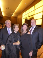 Alan and Sandy Schwartz of Franklin and Elise and Michael