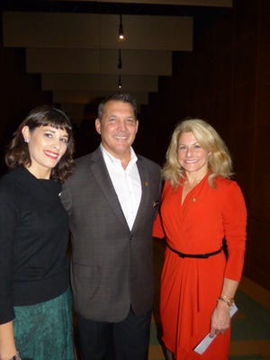 Event co-chair Rita Norkiewicz of Troy, FAR Board Chair Michael Brennan of Birmingham and event co-chair Heather Dell of Rochester Hills.