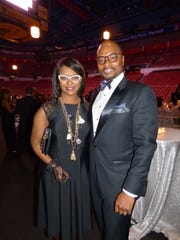 Tina and Jason Tinsley came on behalf of event corporate