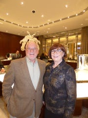 Bloomfield Township residents Tom Schellenberg and Circle of Friends event honoree Oakland County Circuit Judge Joan E. Young, who retired Jan. 1 after 28 years on the bench.