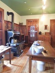 After: Hearthstone's restored Victorian kitchen harkens