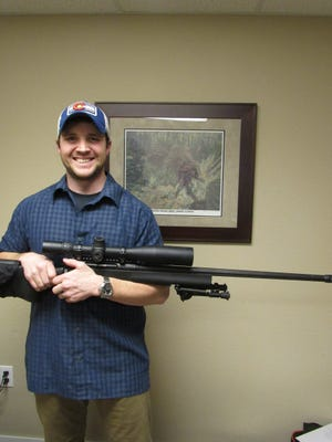Eric Croft, a Fort Collins High School graduate and Army infantryman, is opening Windsor Armory Saturday.