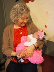 Reese with her great-grandmother. The one responsible