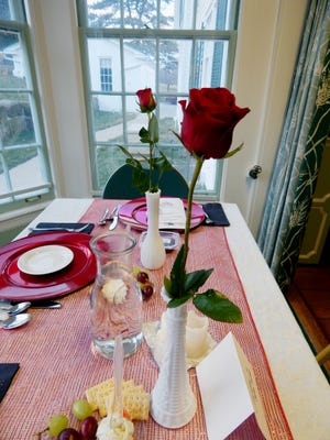 A romantic setting awaits those who attend the Valentines Day dinner at Malabar Farm.