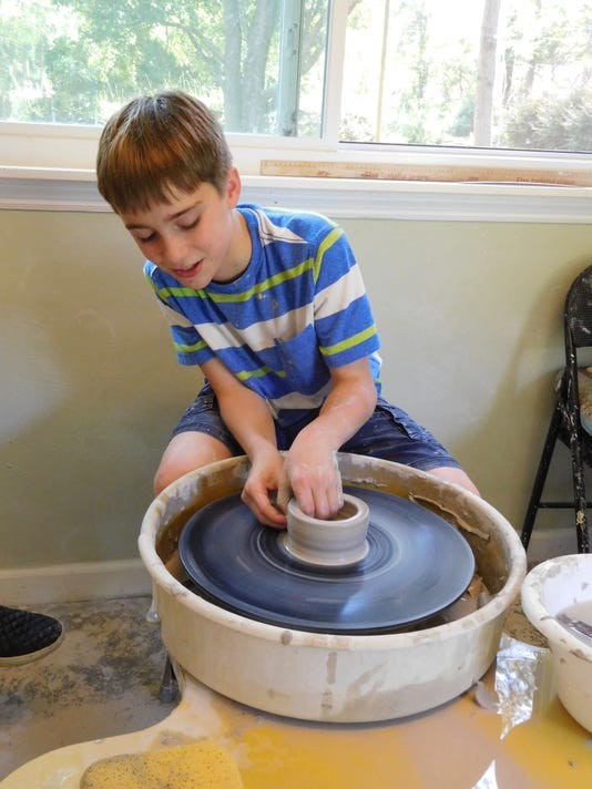 Campers Mold Clay And Shape Talents