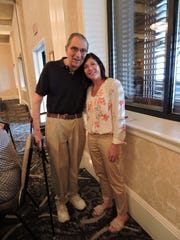 Volunteer Furniture Restoration Workshop Manager Al Kessler of Basking Ridge and SAGE Volunteer Coordinator Amy Stuart of Berkeley Heights at the annual SAGE Eldercare volunteer luncheon held July 17 at The Grand Summit Hotel. The event honors the volunteers who support the many programs of SAGE Eldercare, a unique community resource for older adults and caregivers. To learn more about the volunteer opportunities at SAGE, please call Marianne Kranz at 908.598.5514, or email mkranz@sageeldercare.org. The luncheon was sponsored by PNC Wealth Management, Home Care Assistance, and The Grand Summit Hotel.