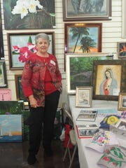 Terry Halek is one of the artists who exhibited at the Cape Coral Art League art fairs.