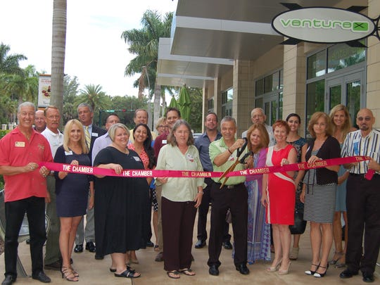 The Greater Naples Chamber of Commerce hosted a ribbon-cutting to welcome American Promotional Products.