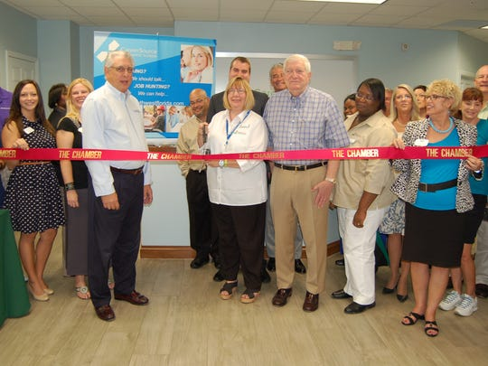 The Greater Naples Chamber of Commerce recently hosted a ribbon-cutting ceremony for CareerSource Southwest Florida.