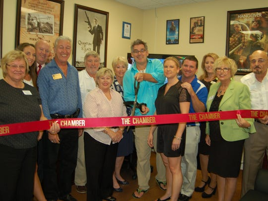 The Greater Naples Chamber of Commerce recently hosted a ribbon-cutting ceremony for Pure Image Productions.