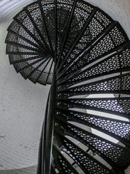 Of the 177 total stairs in the lighthouse, 110 of them