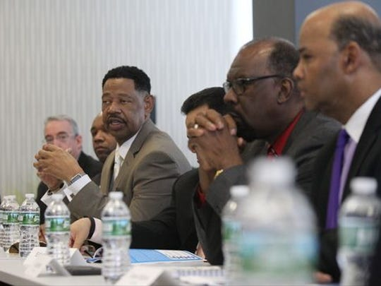 Leaders of local My Brother's Keeper programs meet
