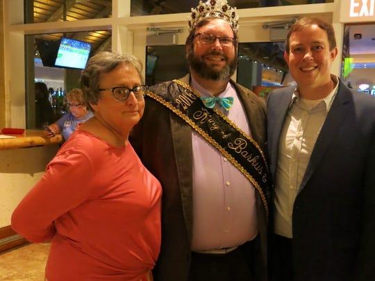 Scott Douget, Krewe Barkus & Meoux 2016 King and Shreveport