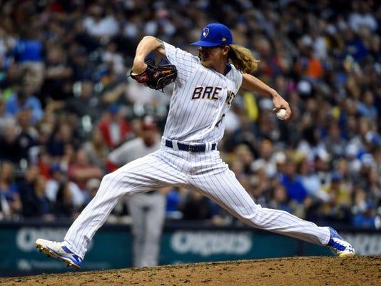 MLB: Washington Nationals at Milwaukee Brewers