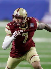 Boston College defensive end Harold Landry could be