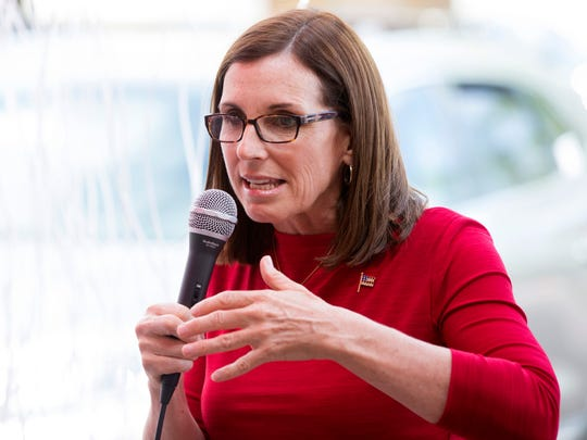 U.S. Rep. Martha McSally, a Republican vying for her