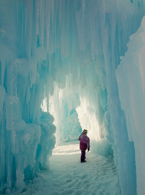 Dillon's Ice Castles are open through March, allowing weekly visitors to walk through a true winter wonderland.