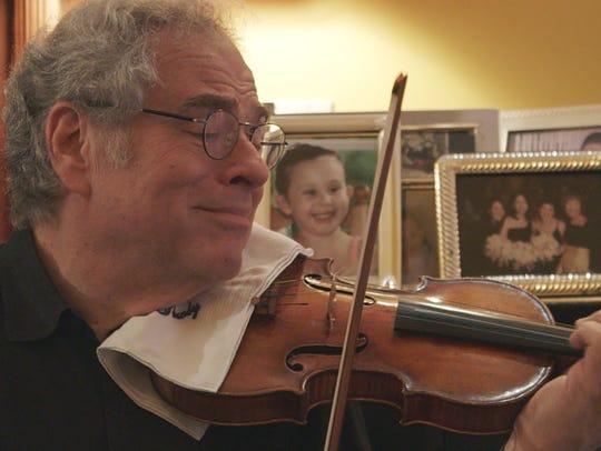 """""""Itzhak,"""" a documentary on Itzhak Perlman, in playing"""