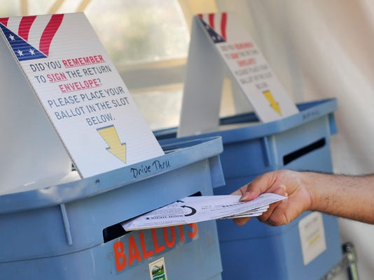 Marion County Elections ballot drop site
