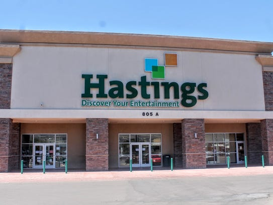 Hastings, 805 N. White Sands Blvd. will continue to