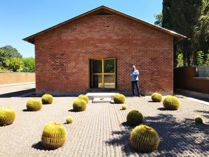 No. 4: Andy Weed became fascinated with this building