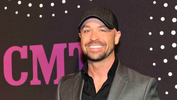 Cody Alan of CMT on the red carpet for the CMT Artists
